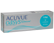 1-Day Acuvue Oasys with HydraLuxe - 3 упаковки (-5%)