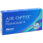 Air Optix plus HydraGlyde контактные линзы