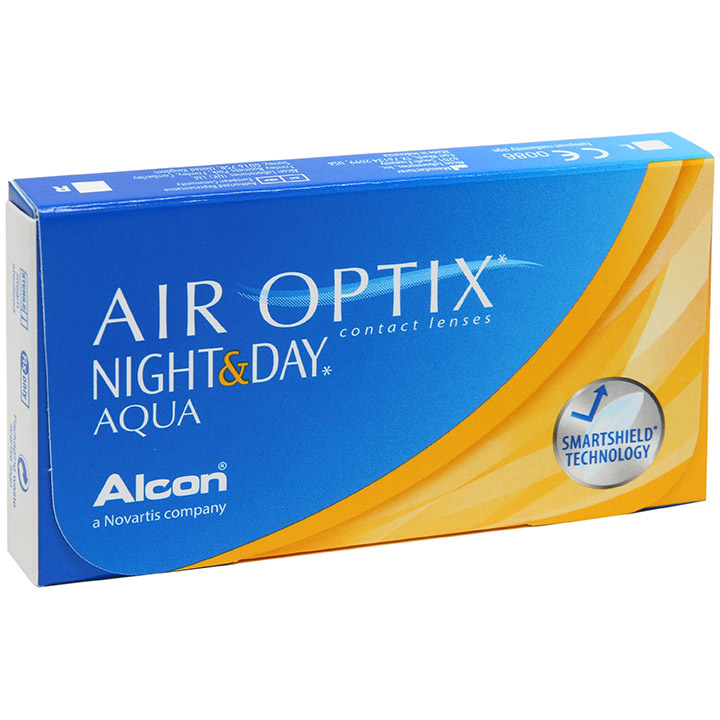 Air Optix Night&Day Aqua контактные линзы